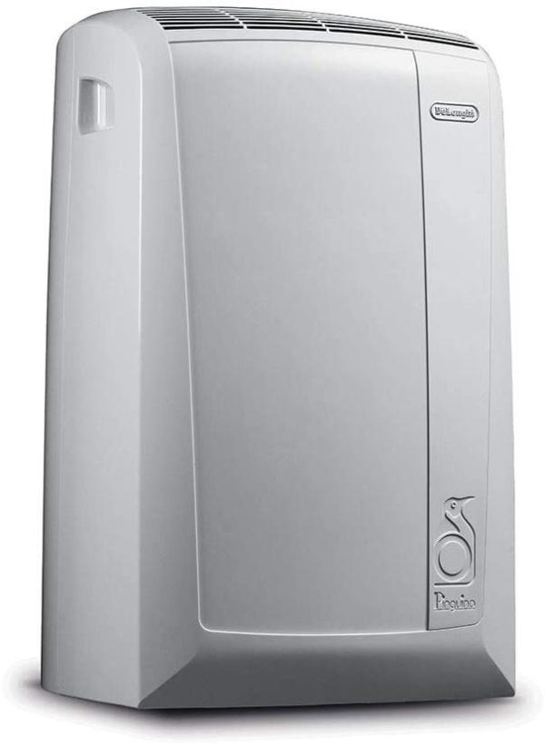 De'Longhi PAC N90 Eco Silent tragbare Klimaanlage, 2500, weiss