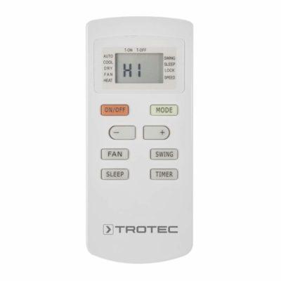 TROTEC PAC 2000E - Fernbedienung