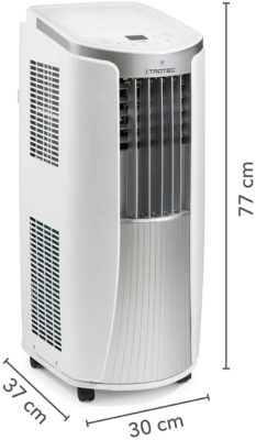 Trotec PAC 2010 E - Maße
